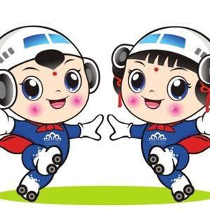 昨天2016.10.29,苏南硕放国际机场发布了新LOGO和吉祥物:一朵九瓣莲花,寓意机场服务