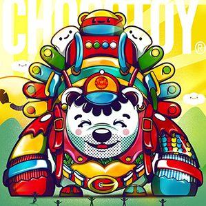 作者:ChocoToy cute collection of illustrations /3 人物设计 图形设计 插图
