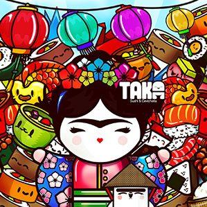 作者:ChocoToy cute collection illustration /11 图形设计 插图 人物设计