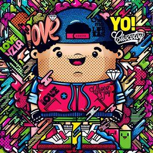 作者:ChocoToy cute  Collection illustration /5 人物设计 图形设计 插图