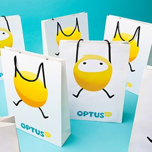 Marco designed this little character for Optus which became their Mascot