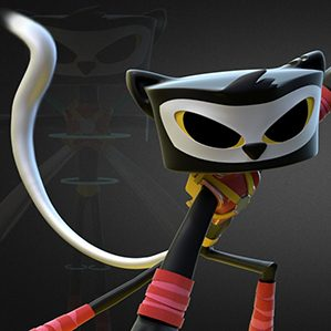 Character Design, Animation and 3D model for to define Kat Character for Animated