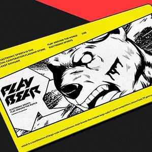 PLAY BEAR 耍熊电竞-玩家国度战略合作电竞馆 电竞品牌设计-PLAY BEAR
